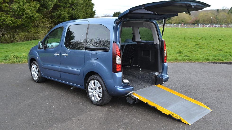 2015 64 Citroen Berlingo 1.6 HDi Plus SE Wheelchair Accessible Vehicle