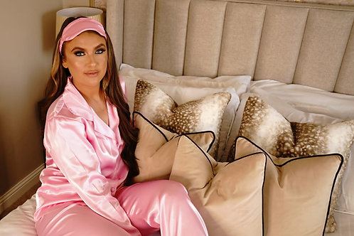 Baby Pink Luxury Satin