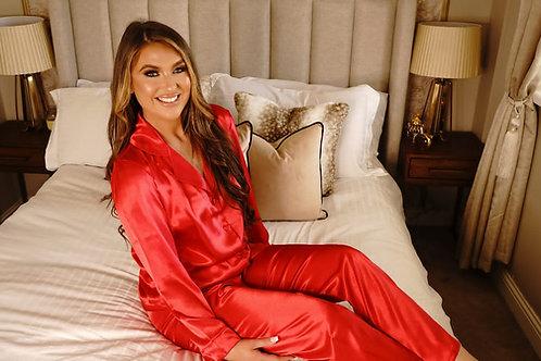 Red Luxury Satin