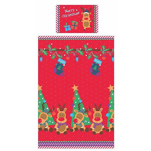 Single Christmas Duvet Covers