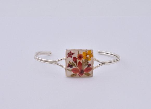 White Adults Square Bracelet
