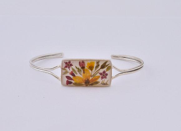 White Adults Rectangular Bracelets