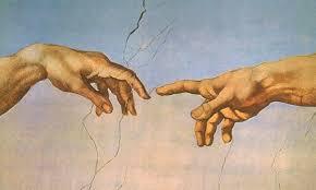 Michelangelo_Dio e l'uomo