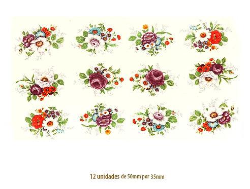 Bouquet - 50x35mm