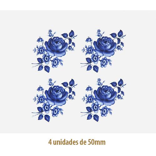 Blue Rose E -  50x34mm