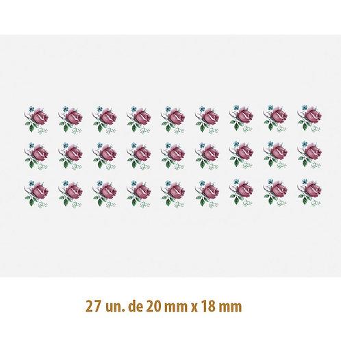 Little Rose N - 20x18mm