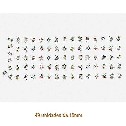 Floral S - 15mm (49un)