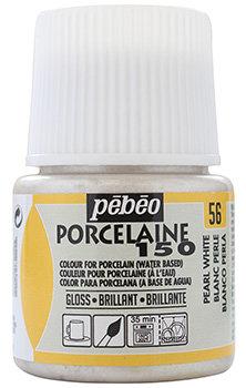 Tinta para Porcelana Pebeo Porcelaine 150 - Pearl White