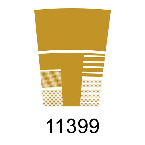 11399 - METALIZADO DOURADO PARA VIDRO