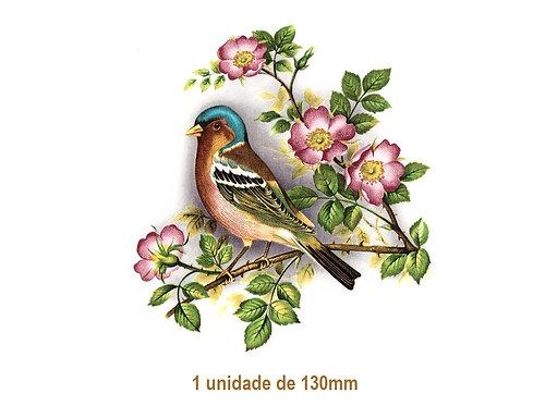 Bird on Rosebush - 130mm