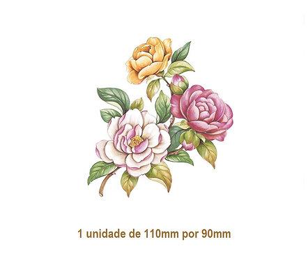 Camellia - 110x90mm