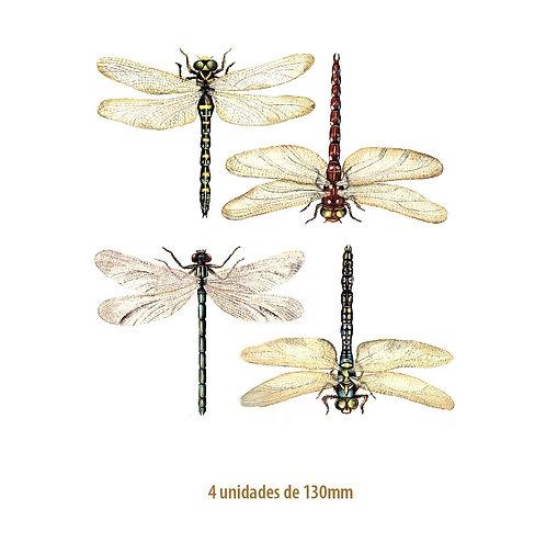 Libellules - 130mm