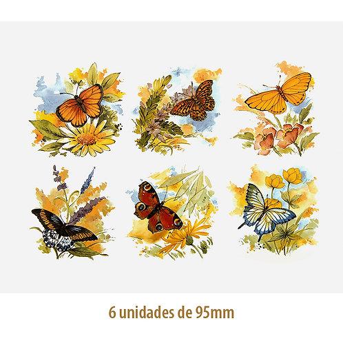 Mix of Butterflies - 95mm