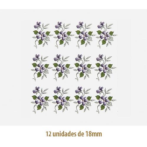 Little Violet - 18mm x 24mm