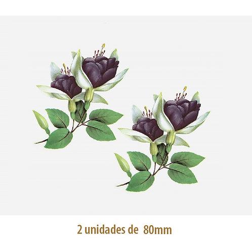 Violet Fucsia B - 80mm
