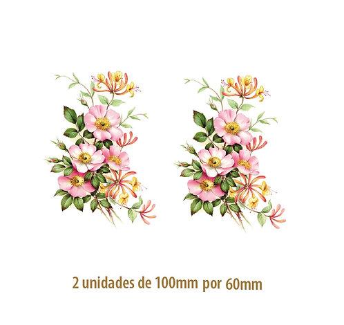 Wild Rose B - 100 x 60mm