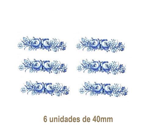 Silvia Azul - 40mm