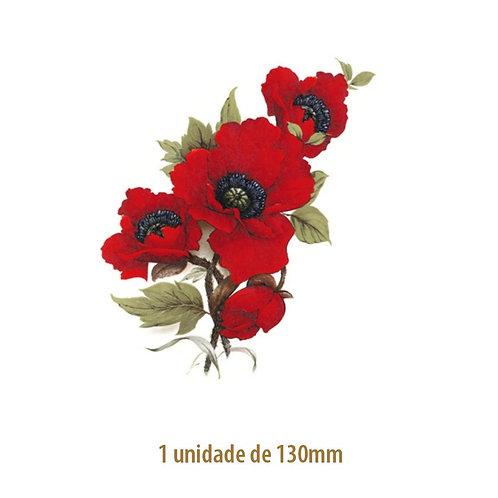 Red Poppy - 130mm
