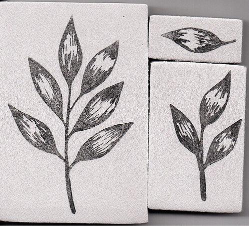 Carimbo - Conjunto de Folhas