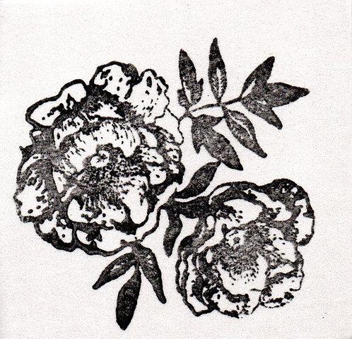 Carimbo - Rosas 02