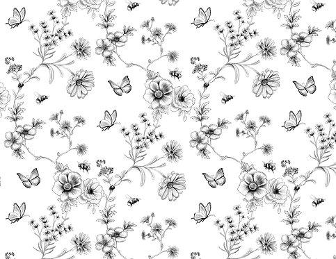 Tapete - Silent Garden  (70x50cm)