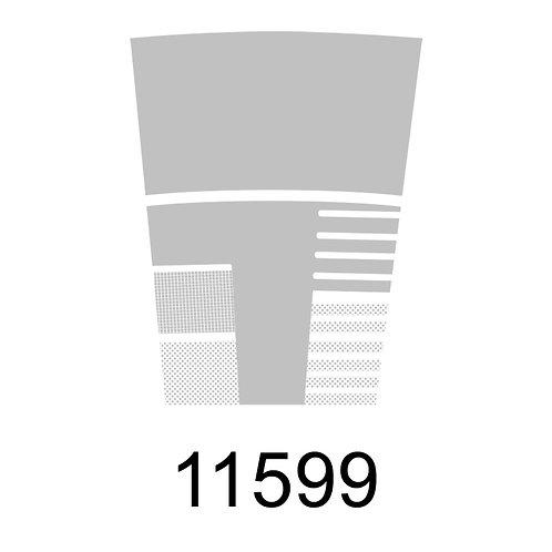 11599 - METALIZADO PRATA PARA VIDRO