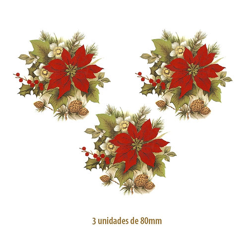 Xmas Flower - 80mm