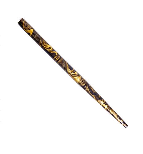 Cabo Para Penas - Marmorizado Dourado e Preto