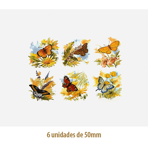 Mix of Butterflies - 50mm
