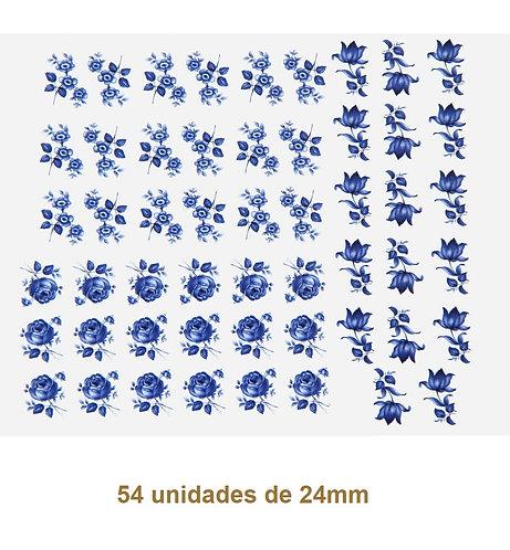 Blue Rose H - 24mm (54 un)