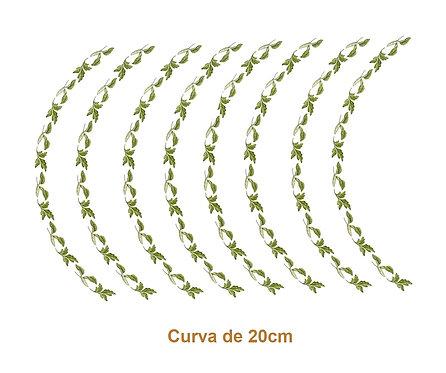 Green Border - Curva de 20cm