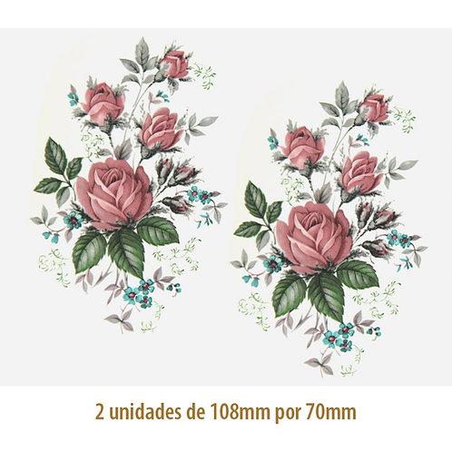 Little Rose B - 108x70mm