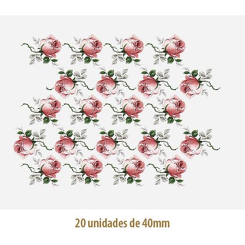 Jubilee Rose 40mm