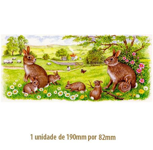 Field Bunnies - 190x82mm