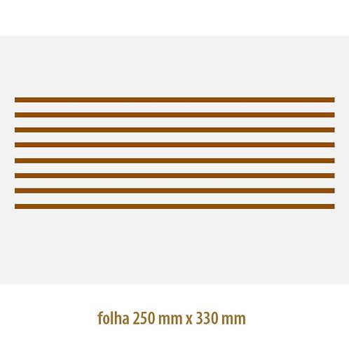 Filete Ouro 02 - Vidro