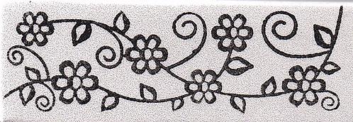 Carimbo - Barra Floral