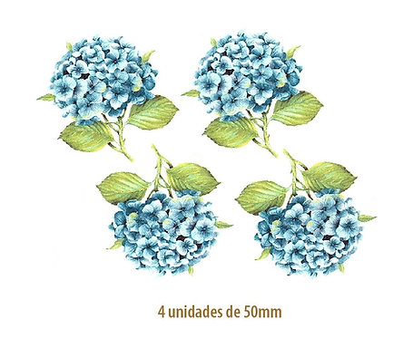 Hortensia Azul - 50mm