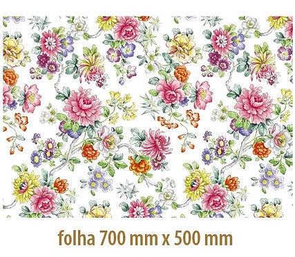 Tapete - Floral Colorido