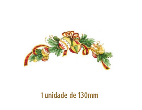 Xmas Ball (Curved) 130mm