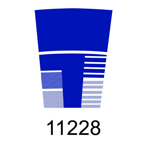11228 - AZUL ESCURO PARA VIDRO