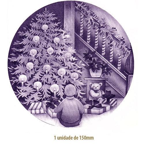 Blue Christmas Tree - 150mm