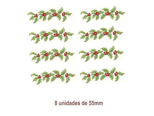 Flor de Navidad - 55mm