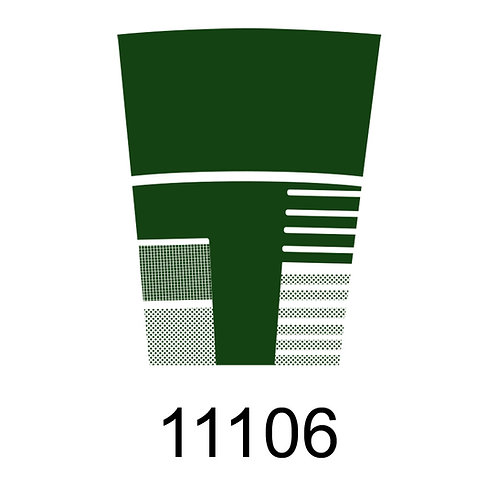 11106 -VERDE CROMO PARA VIDRO