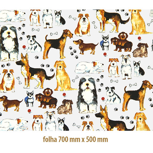 Tapete - Cachorros (70x50cm)