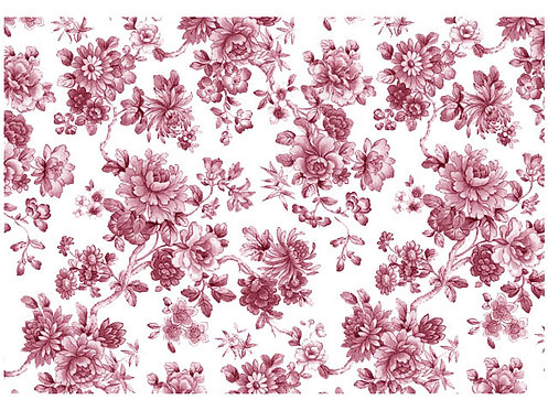Tapete - Floral Red (70x50cm)