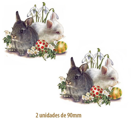 Bunnies - 90mm