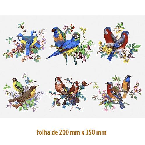 Beauty Birds 130mm