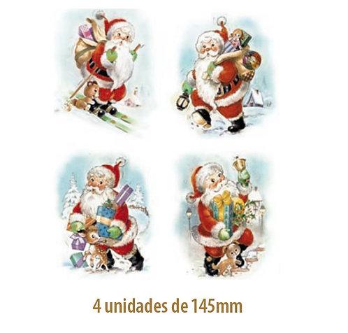 Papai Noel (4 modelos) - 145mm