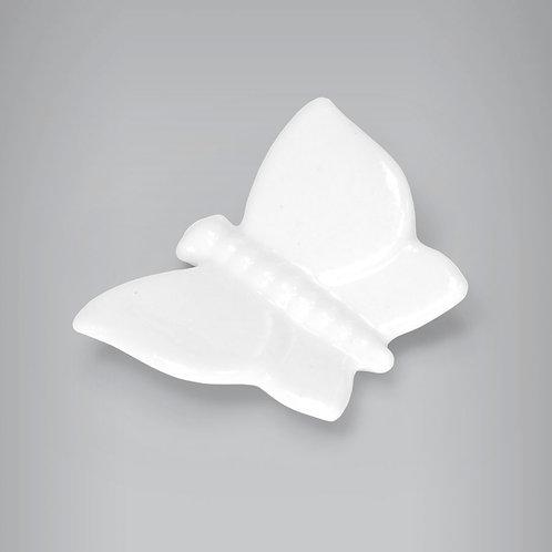 Mini Borboleta de Porcelana G - 4cm