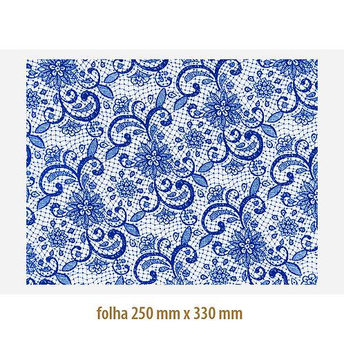 Renda 03 Azul